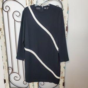 Liz Claiborne long sleeved dress size 10